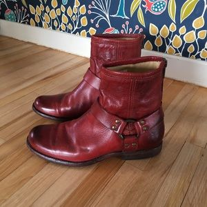 Frye Ryder Harness Boots
